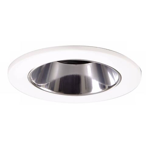 "Halo 3"" White Finish Lensed Shower Recessed Light"