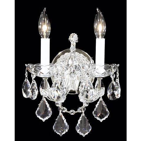 James R. Moder Maria Teresa Silver Wall Sconce