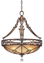 "Minka Aston Court Collection 24"" Wide Pendant Light"