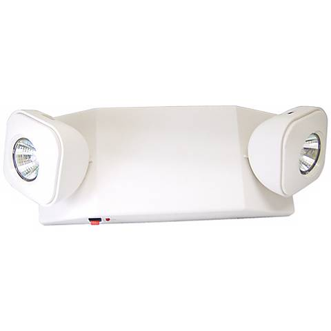 EZ Compact White Halogen Emergency Light