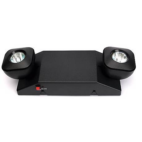 EZ Compact Black Halogen Emergency Light