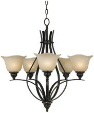 "Feiss Morningside Collection 25 1/2"" Wide 5-Light Chandelier"