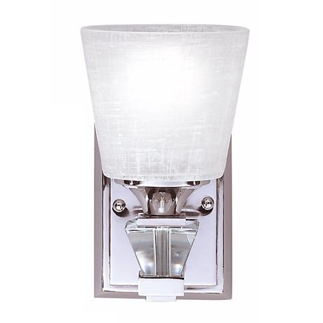 """Deluxe Collection Chrome 10"""" High Wall Sconce"""