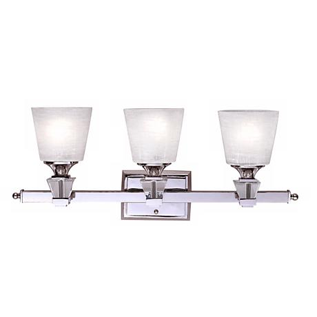 Deluxe Collection 25 1 2 Wide Three Light Bathroom Fixture 42818 Lamps Plus