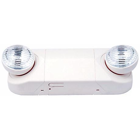 White PAR-Style Emergency Light