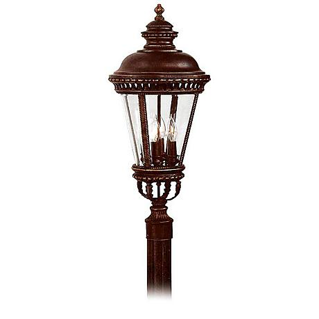 "Feiss Castle 22 1/4"" High Outdoor Post Mount Light"