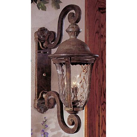 "Ardmore 31 1/2"" High Rust Outdoor Wall Light"