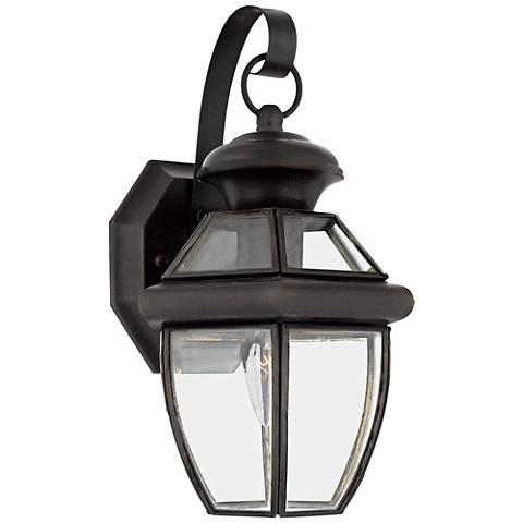 "Quoizel Newbury 12 1/2"" High Small Outdoor Wall Light"