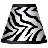 Classic Zebra Set of Four Shades 3x6x4 3/4 (Clip-On)
