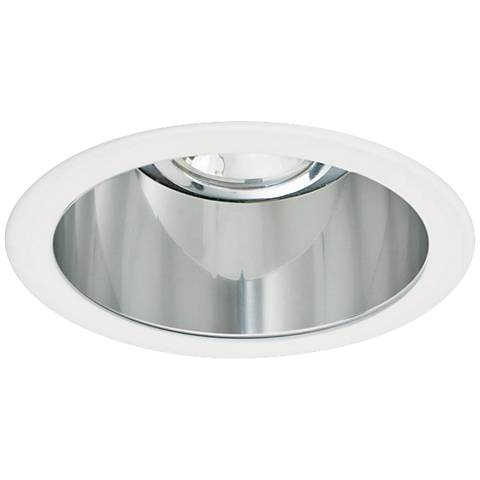 "Intense 3"" Clear and White Recessed Lighting Trim"