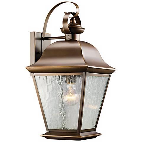 "Kichler Mount Vernon 19 1/2"" High Outdoor Wall Light"