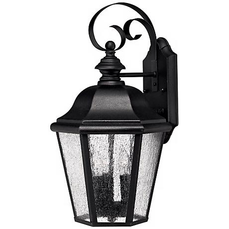 """Edgewater Collection Black 17 1/2"""" High Outdoor Wall Light"""