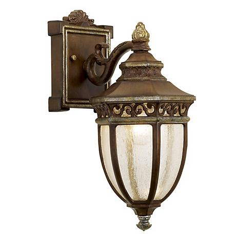 """Castle Ridge Collection 15"""" High Outdoor Wall Light"""