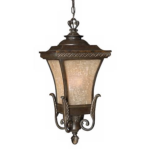 "Brynmar Collection 27"" High Outdoor Hanging Light"