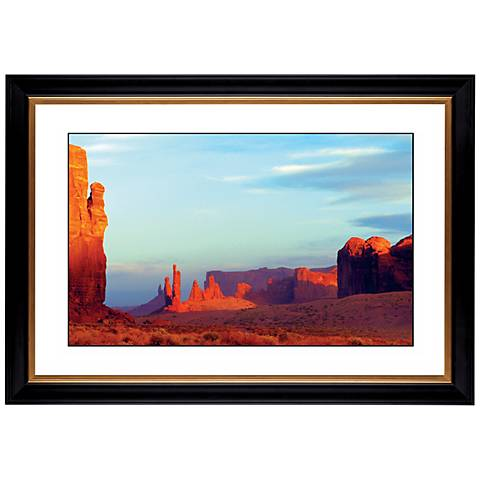 "Red Mesa Giclee 41 3/8"" Wide Wall Art"