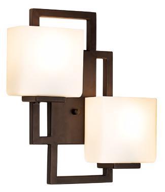 Chic Square Sconces Make Beautiful Contemporary Bathroom Lighting Room Inspiration Lamps Plus