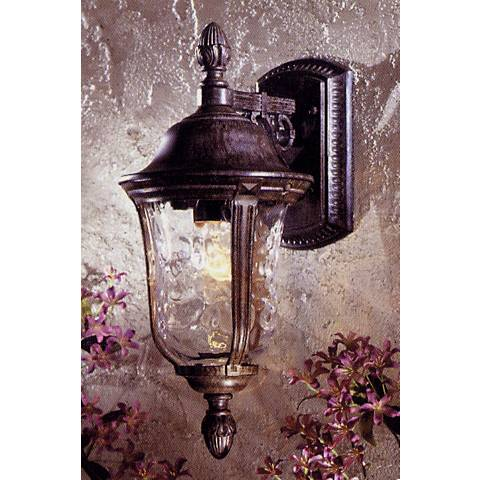 "Ardmore 17"" High Vintage Rust Outdoor Wall Light"
