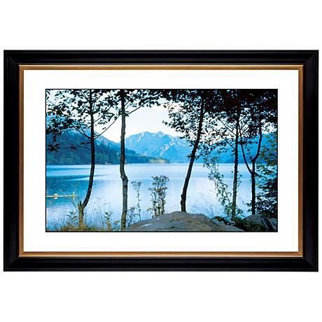 "Mountain Lake Giclee 41 3/8"" Wide Wall Art"