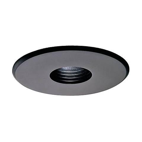 "Lightolier 308 Series 3 3/4"" Pinhole Black Recessed Trim"