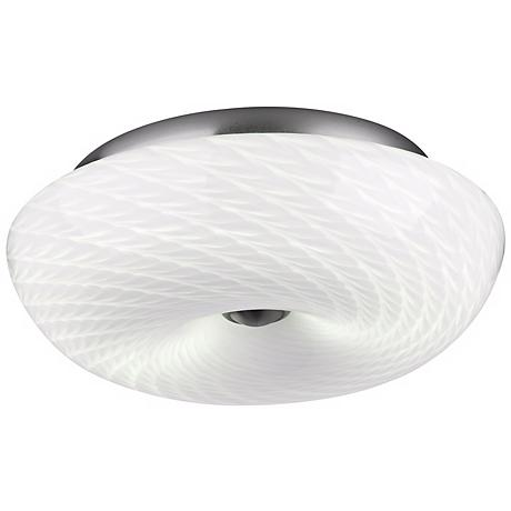 """Philips Inhale Collection 13"""" Marta White Ceiling Light"""