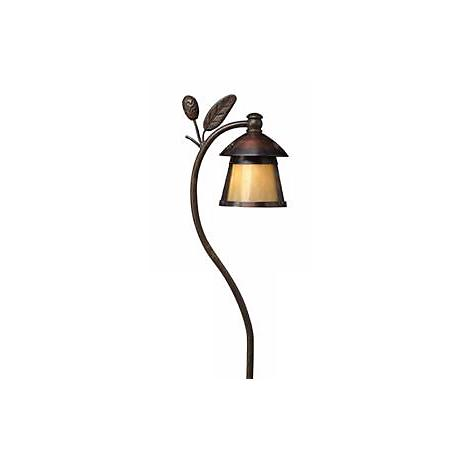 Hinkley Pinecone Sienna Low Voltage Landscape Light
