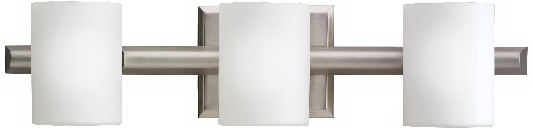 Kichler Cylinder Brushed Nickel 21 Wide Bathroom Light 48531