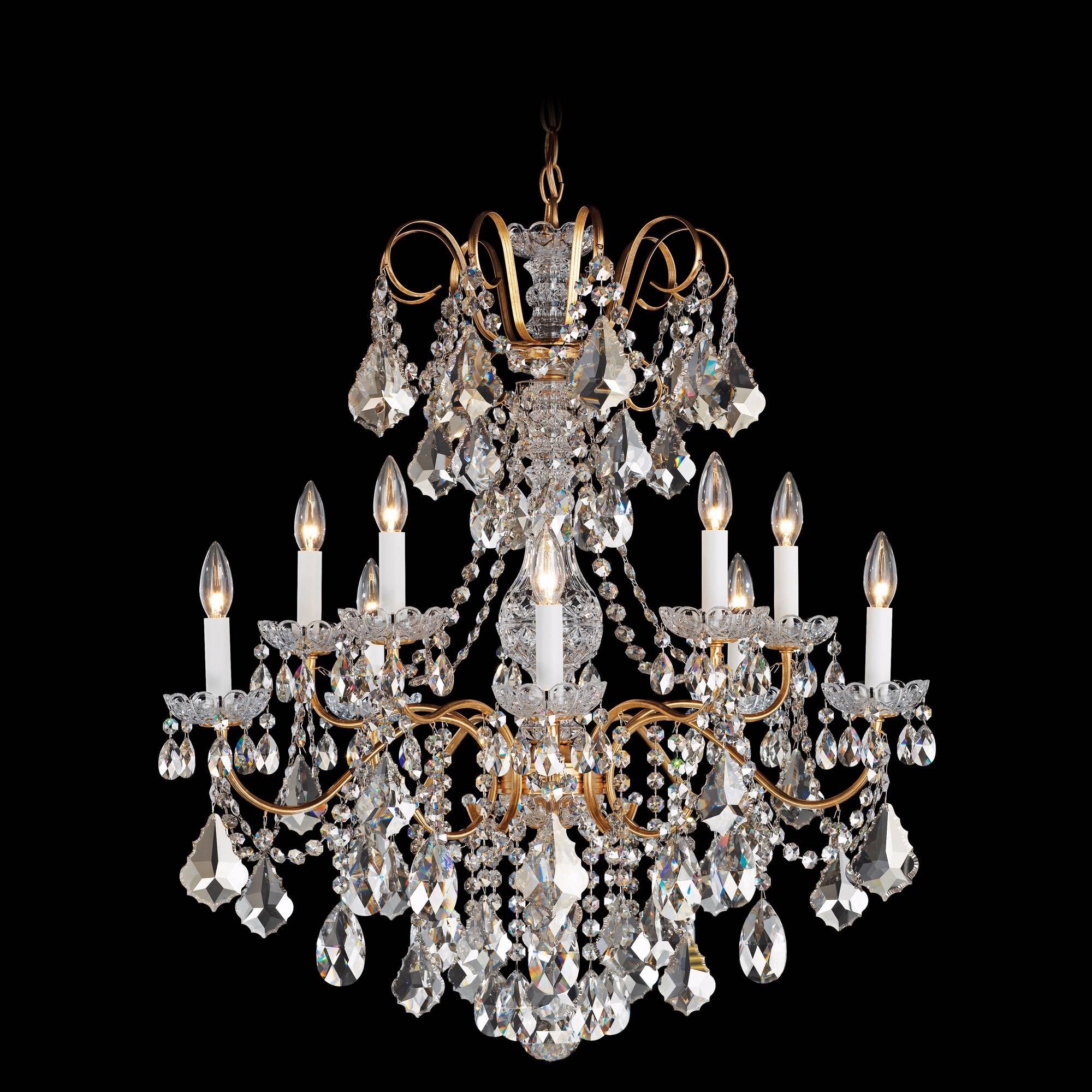 Schonbek La Scala Collection 28 Quot Wide Crystal Chandelier