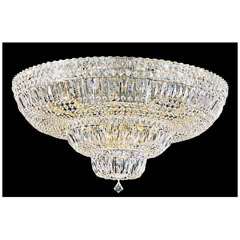 "Schonbek Petit Crystal Deluxe 30 1/2""W Aurelia Ceiling Light"