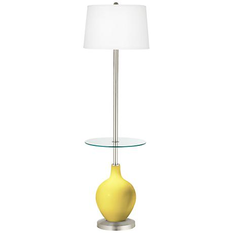 Lemon Twist Ovo Tray Table Floor Lamp