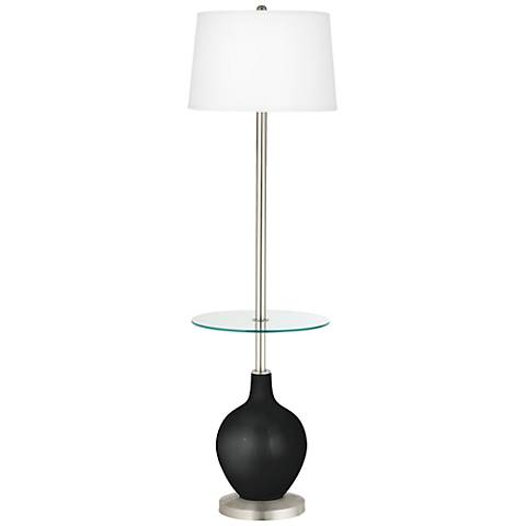 Caviar Metallic Ovo Tray Table Floor Lamp