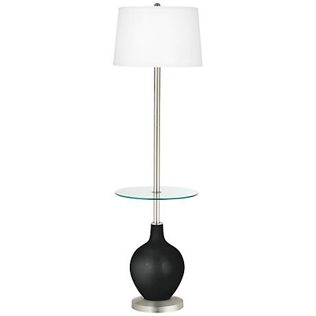 Caviar Metallic Ovo Tray Table Floor Lamp
