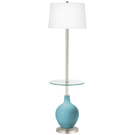Nautilus Ovo Tray Table Floor Lamp