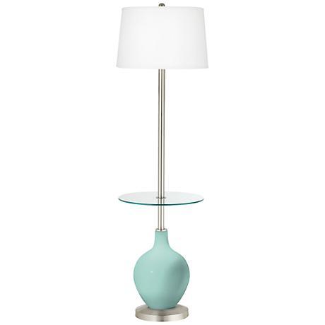 Cay Ovo Tray Table Floor Lamp