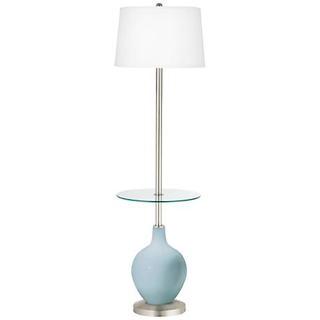Vast Sky Ovo Tray Table Floor Lamp