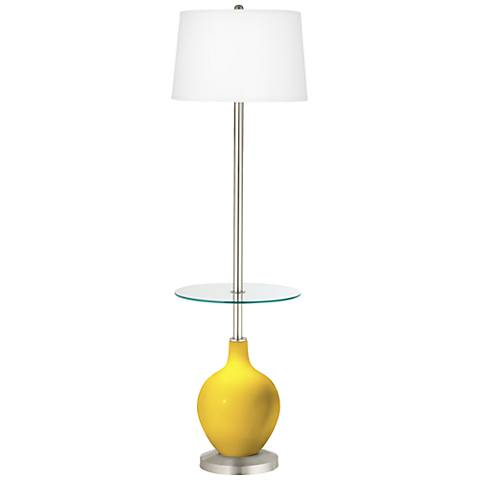 Citrus Ovo Tray Table Floor Lamp