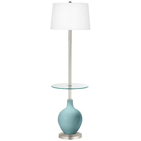 Raindrop Ovo Tray Table Floor Lamp