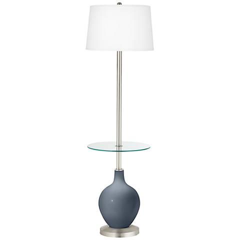 Granite Peak Ovo Tray Table Floor Lamp