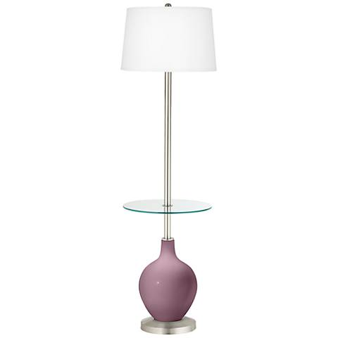 Plum Dandy Ovo Tray Table Floor Lamp