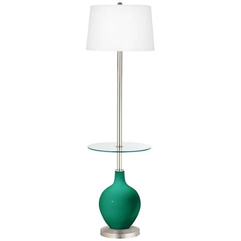 Leaf Ovo Tray Table Floor Lamp