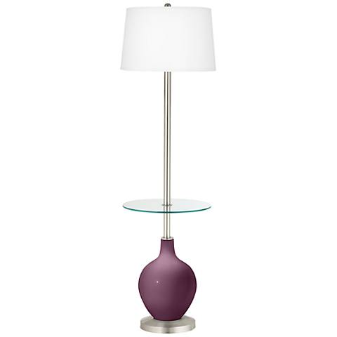 Grape Harvest Ovo Tray Table Floor Lamp