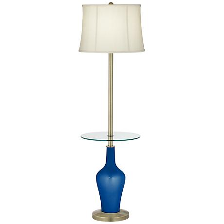 Ocean Metallic Anya Tray Table Floor Lamp
