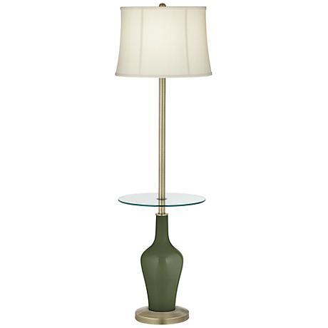 Secret Garden Anya Tray Table Floor Lamp