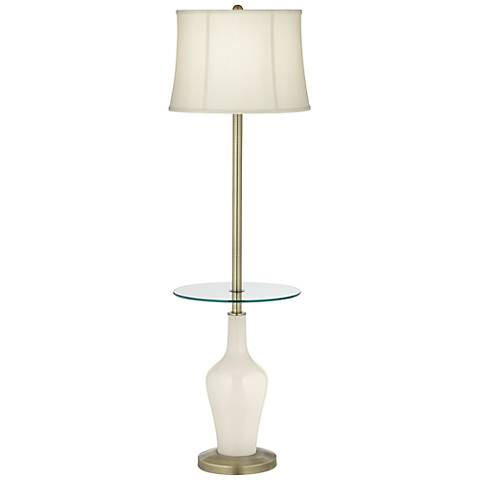 West Highland White Anya Tray Table Floor Lamp