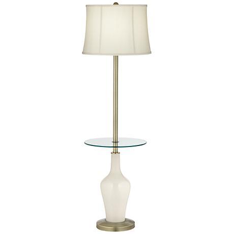 West Highland White Anya Tray Table Floor Lamp