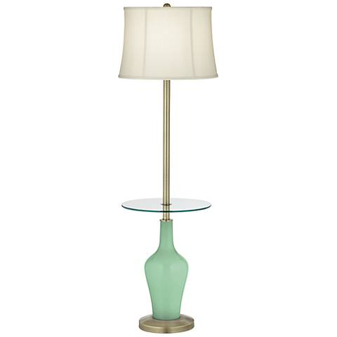 Hemlock Anya Tray Table Floor Lamp