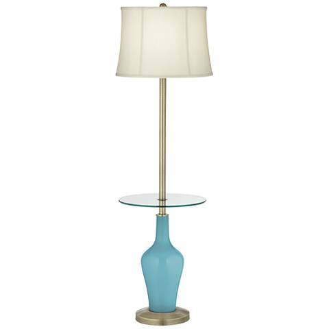 Nautilus Anya Tray Table Floor Lamp