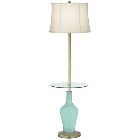Cay Anya Tray Table Floor Lamp