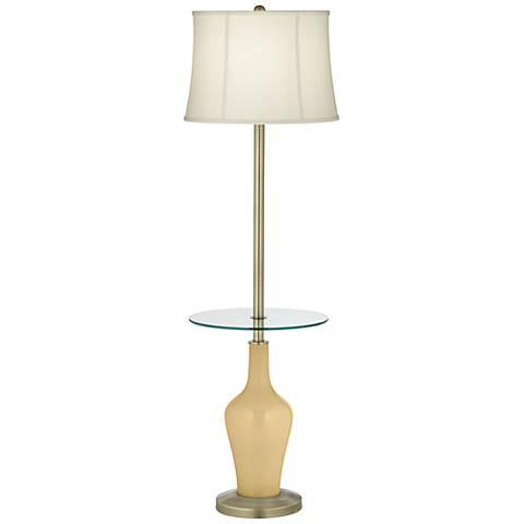 Humble Gold Anya Tray Table Floor Lamp