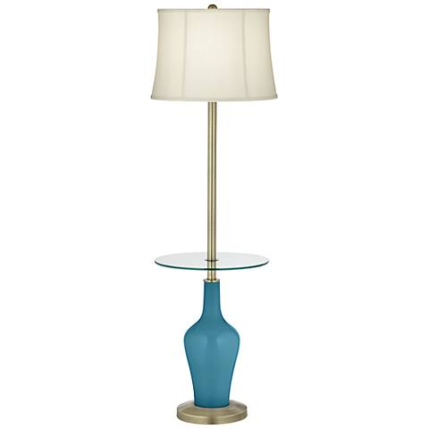 Great Falls Anya Tray Table Floor Lamp
