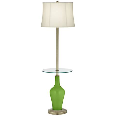 Rosemary Green Anya Tray Table Floor Lamp